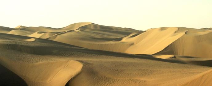 como passar pelo deserto